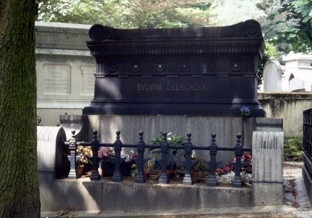 Tomb of Eugene Delacroix