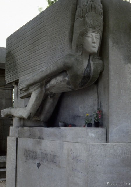 Tomb of Oscar Wild (1912) by Jacob Epstein