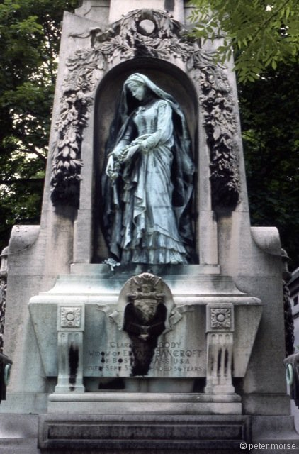Tomb of Clara E. Peabody (d.1882)