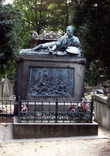 Tomb of Theodore Géricault (c.1885) by Antoine Etex