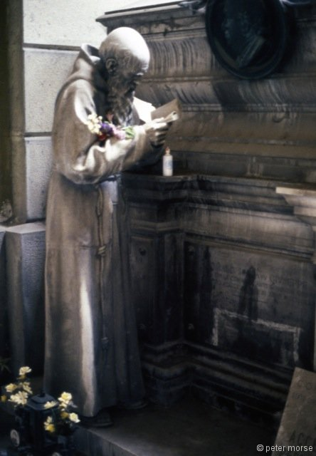 Tomb with Figure of a Monk