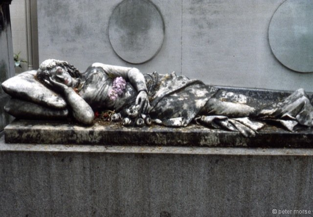 Tomb (Gisant with make-up)