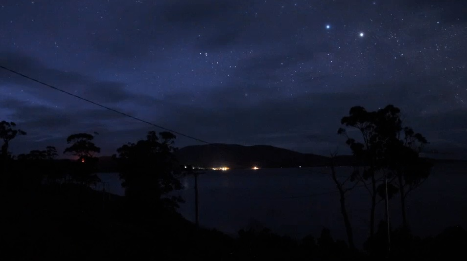 Bruny Island View Night Sky