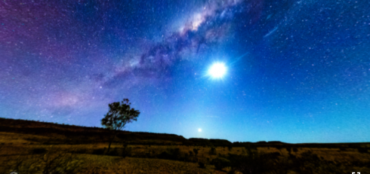 Panoramic Astrophotography @Henbury Crater, NT