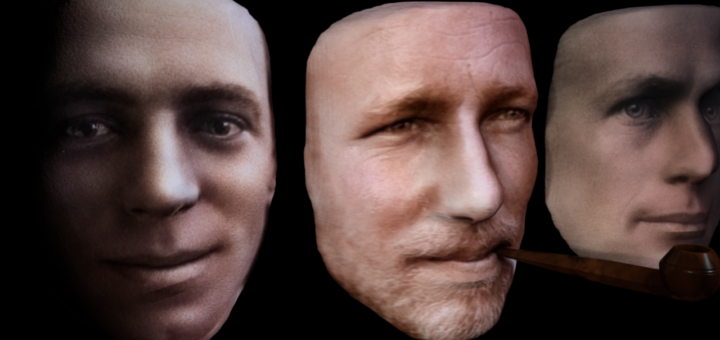 Hurley - Bage - Mawson, 3D Reconstruction